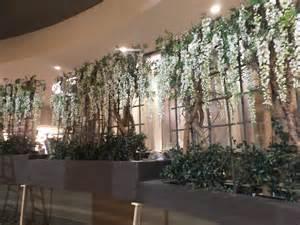 ceiling draping for weddings trellis make be leaves