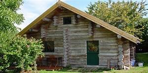 Maison Rondin Bois : maison rondins bois fustes pinterest maison rondin ~ Melissatoandfro.com Idées de Décoration