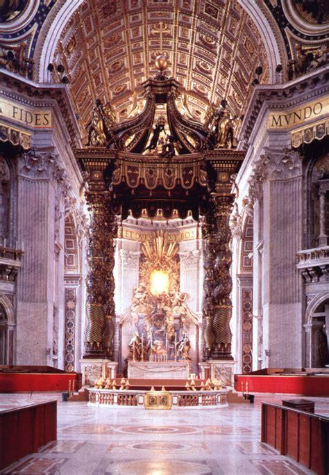 Baldacchino By Bernini by St S Papal Altar Baldacchino