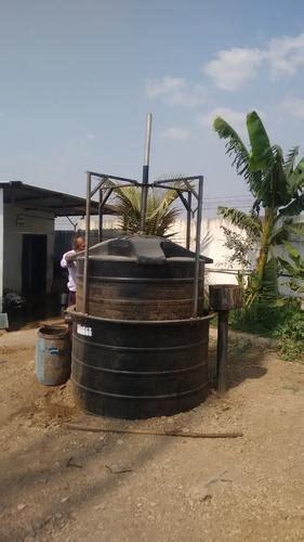 semi automatic kitchen waste bio gas plant  industrial