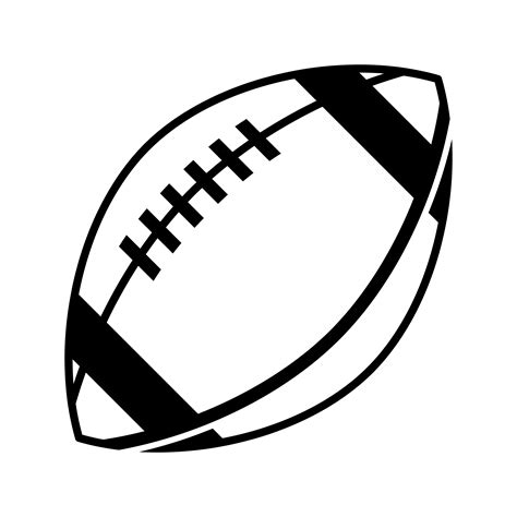 Use this american football ball black svg for crafts or your graphi American Football vector icon 551060 - Download Free ...