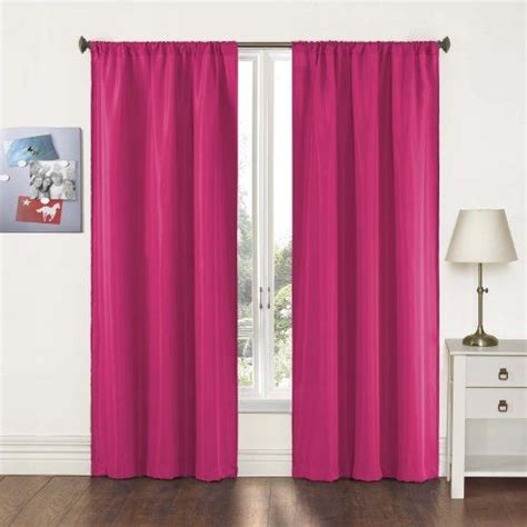 pairs to go capella woven solid curtain panel pair 63