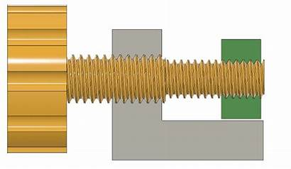 Differential Thread Screws Fine Screw Super Adjustment