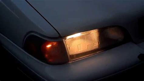 volvo    bad headlight  dim