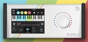Synesthesia Pipes, module MIDI stéréo tactile autonome ...