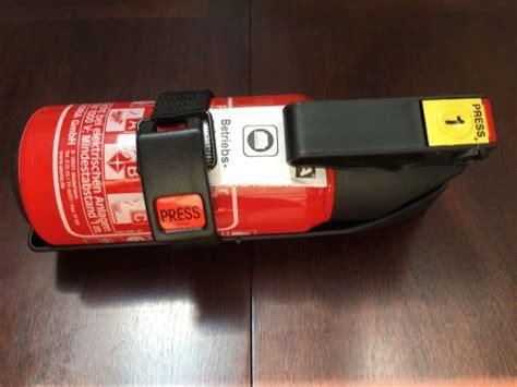 find porsche oem fire extinguisher   boxster brand