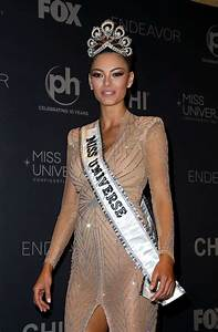 Demi Leigh Nel Peters 2017 Miss Universe Pageant In Las