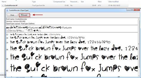 como descargar e instalar tipos de letras letras c 243 mo descargar e instalar nuevas