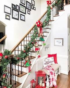 19, Amazing, Christmas, Entryway, Ideas, Farmhouse, Style, U0026, More
