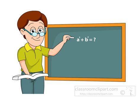 Math-teacher-writing-expression-on