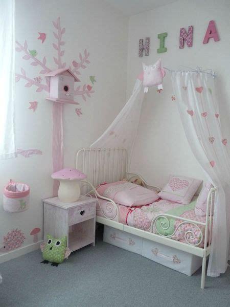 voilage chambre bebe lit fille avec voilage
