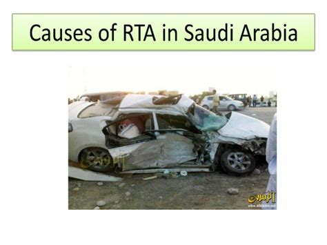 Road Traffic Accident In Saudi Arabia