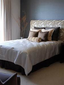 how to make an upholstered headboard hgtv With bed with cloth headboard