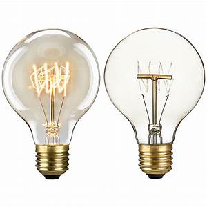 Glühlampe Als Lampe : 1x e27 e14 vintage gl hlampe gl hbirne lampe retro edison birne ebay ~ Markanthonyermac.com Haus und Dekorationen