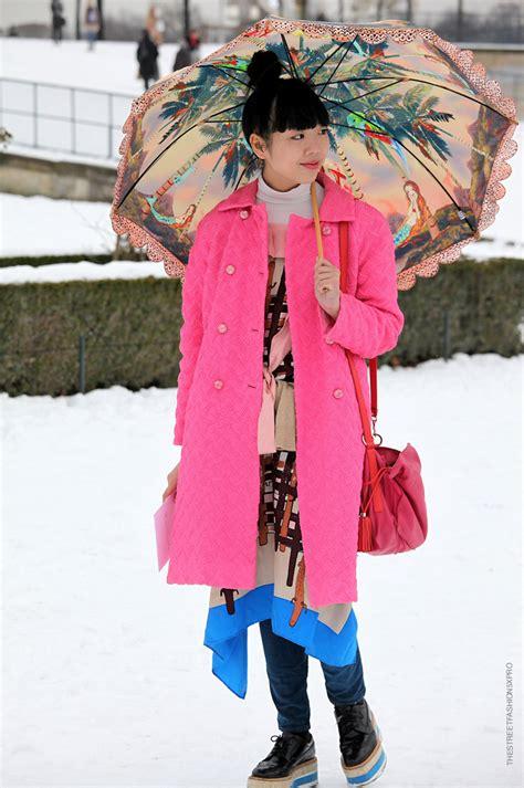 fashion tricks street style pink paris milan