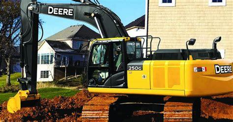 john deere final tier  excavators onsite installer