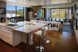 wohnküche gestalten offene wohnküche modern gestalten und trennen