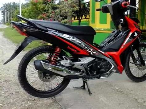 Modif Supra X 125 Ring 17 by Modifikasi Motor Supra X 125 F1
