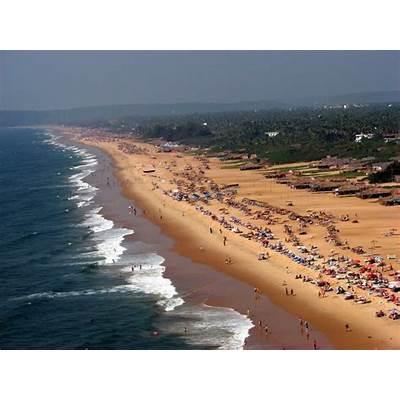 Candolim Beach Goa : LocationGeography & General information