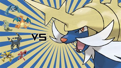 pokemon wifi battle samurott  ou team youtube