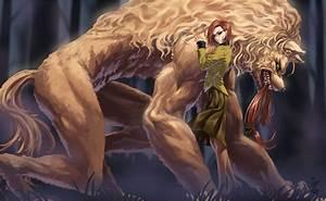 Original art monster creature fantasy girl wallpaper ...