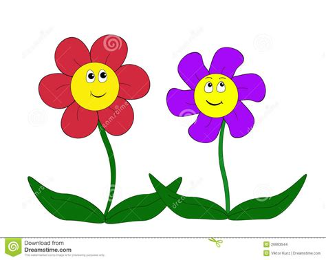 Cartoon Flowers Pictures