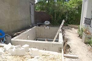 construction dune mini piscine en beton sur le blog With construire une piscine en beton