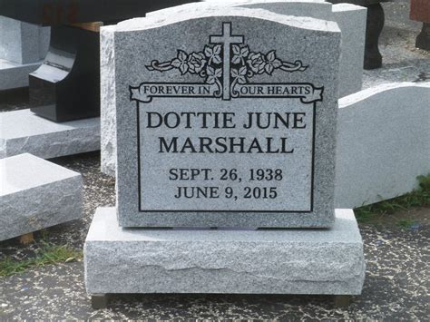 cemetery headstone tombstone marker custom engraving