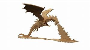 Smaug the Magnificent Hobbit Dragon of Erebor - Mythical