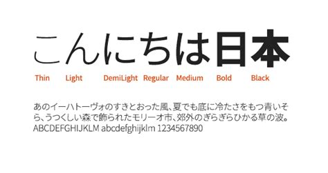 noto sans japanese  japanese font  japanese font