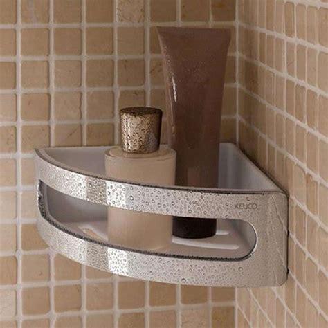 keuco elegance corner shower basket a bell bathrooms