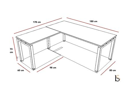 plan bureau de travail bureau d angle quadra mobel linea bureaux opératif