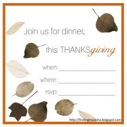 finding my aloha 2011 39 s free thanksgiving invitations printable