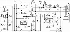 circuit diagram of a single port midspan With note this diagram does not reflect the pysical layout of the input and