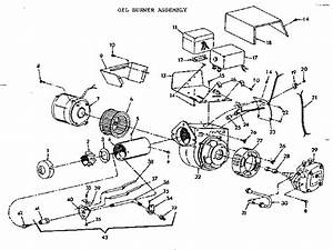 Oil Burner Assembly Diagram  U0026 Parts List For Model Fbl57