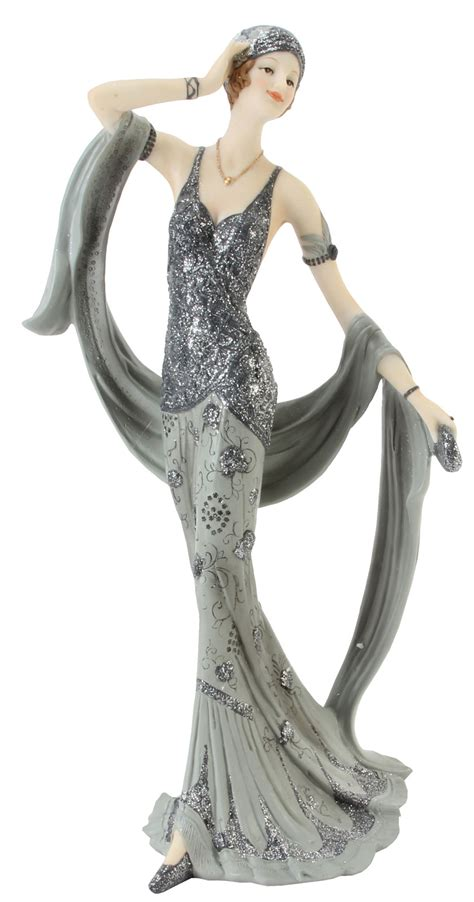 art deco broadway belles lady figurines ornament gift