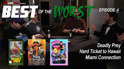 red letter media best of the worst letter media best of the worst episode 4 deadly prey 24240 | redlettermedia best of the worst episode 4 deadly prey hard ticket to hawaii and miami connection