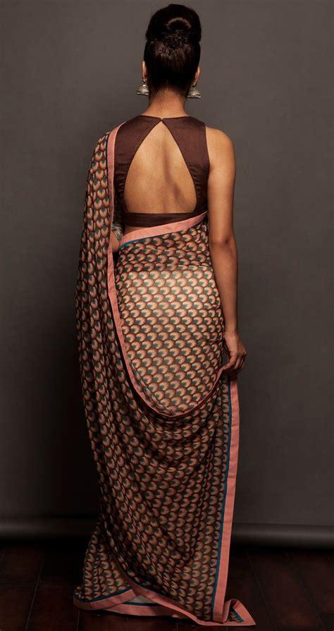 gorgeous saree blouse  designs blouse neck designs