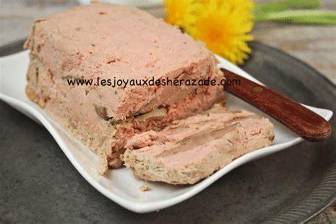cuisine algerienne facile terrine de foies de volailles les joyaux de sherazade