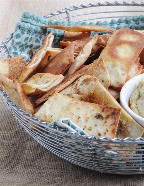 Homemade Pita Chips   Nutritious Eats