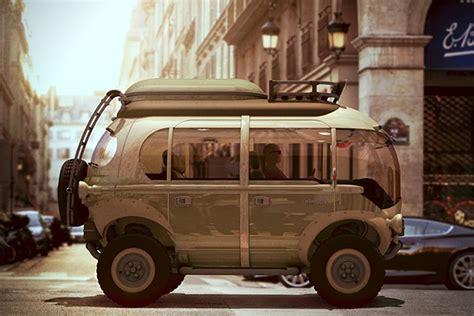 Nimbus E-car Off-road Electric Vehicle
