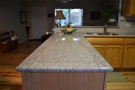 kitchen counterstops finish with lazy granite system in