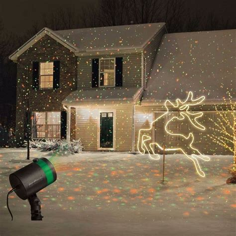 night stars deluxe landscape laser light star shower laser light projector outdoor christmas show