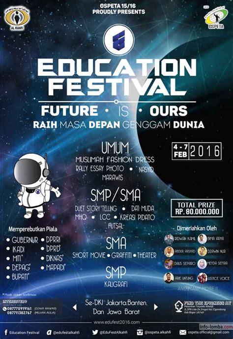 education festival   smp sma  umum