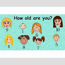 How Old Are You? Purposegames