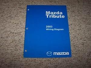 2003 Mazda Tribute Factory Original Electrical Wiring