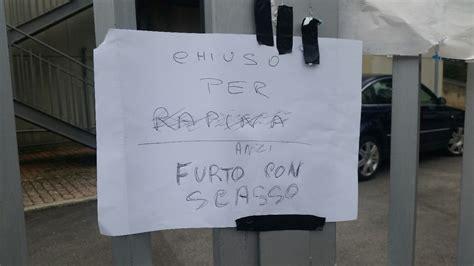Uffici Giudiziari by Con Scasso Agli Uffici Giudiziari I Ladri Aprono Le