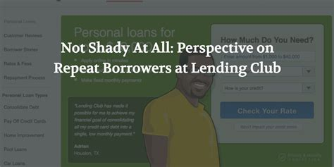 lending club phone number not shady at all perspective on repeat borrowers at