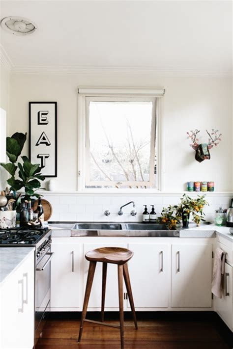 small kitchen no cabinets kitchen trend no cabinets emily a clark