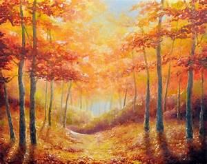 Art by Erica Blankenbehler: Autumn Leaves